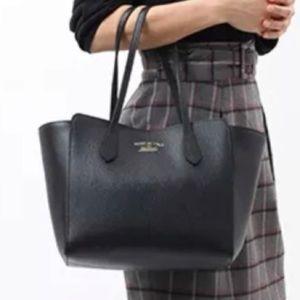 Authentic Gucci Swing tote Black